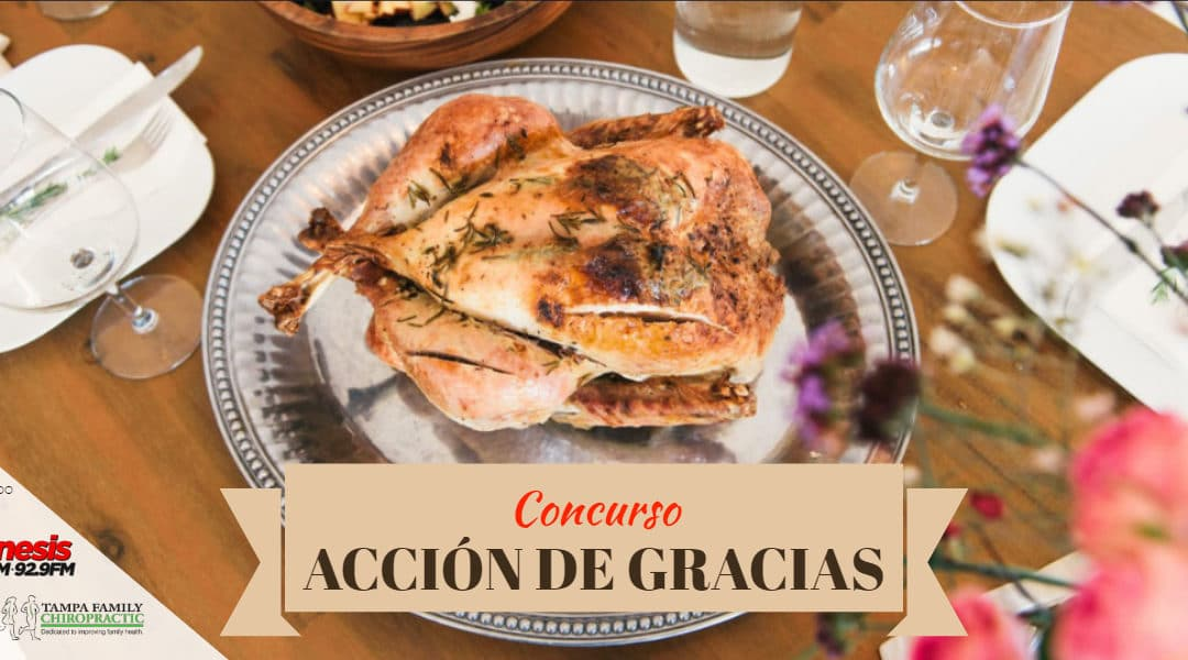 CONCURSO DE ACCIÓN DE GRACIAS