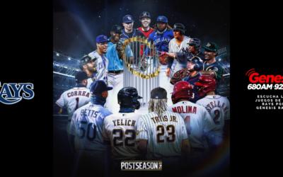 Los Playoffs 2020 de los Rays en Génesis Radio