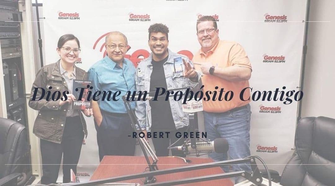 Robert Green en Génesis Radio (Grupo Barak)