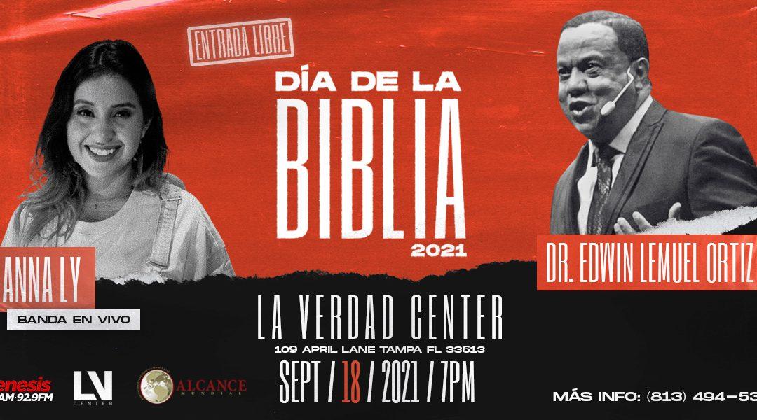 El Día de la Biblia 2021 con el Dr. Edwin Lemuel Ortiz
